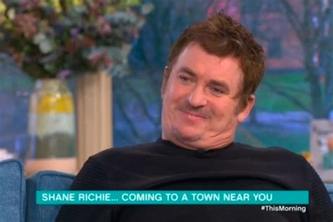 Richie Talks To Ok by This Morning Shane Richie Gets Abruptly Cut Air As He