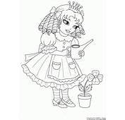Coloring Page  For Little Princesses