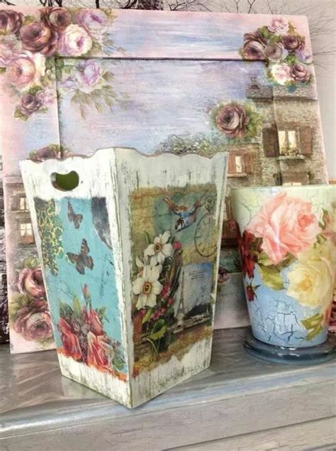 decoupage idea 1000 images about cajas decoradas on madeira