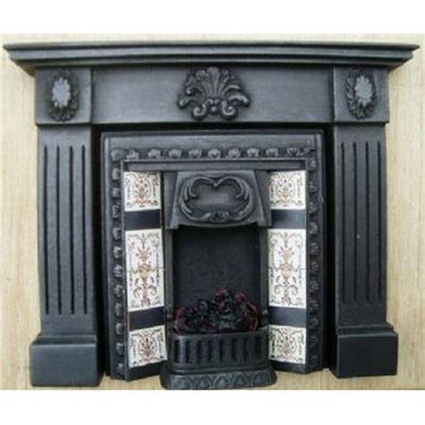 dolls house fireplace dolls house fireplace with glowing fire f13cc1