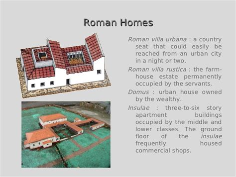 Two Story House Plans by Green Building In Ancient Rome