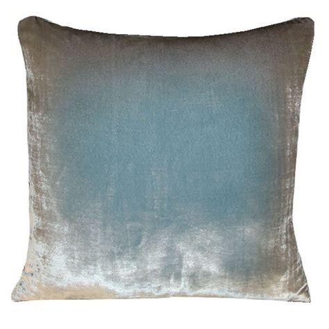 Kevin O Brien Pillows by Kevin O Brien Studio Ombre Solid Velvet Dec Pillow