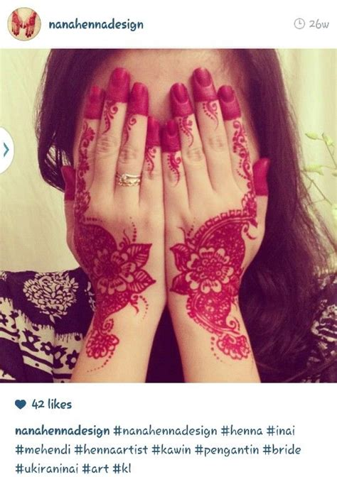 design henna malaysia wow too red henna inai hennaart pinterest henna