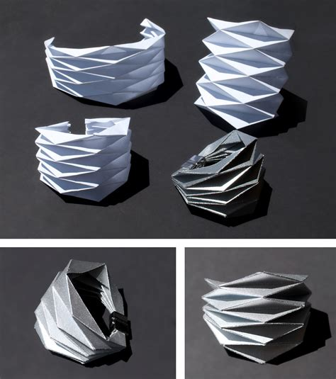 Project Origami - concreate diy project origami bracelet