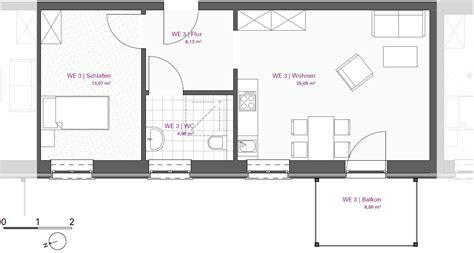 wohnung 60 m2 grundriss mieten leistungen