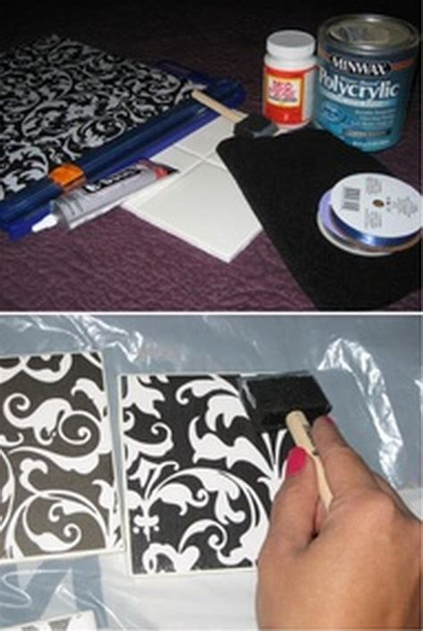 homemade coasters diy coaster ideas 19 pics