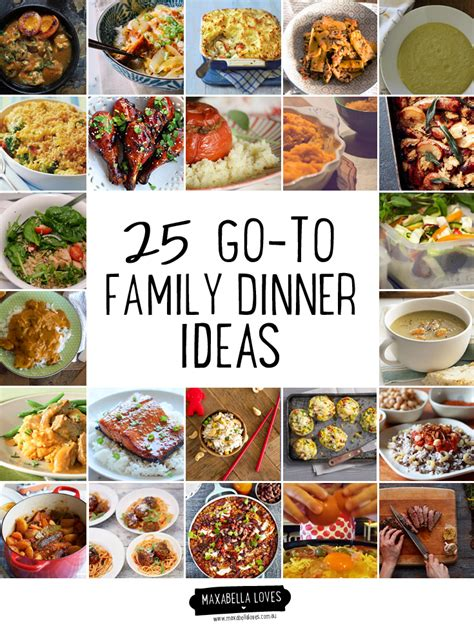 dinner menu ideas families easy menu ideas dinner pictures to pin on