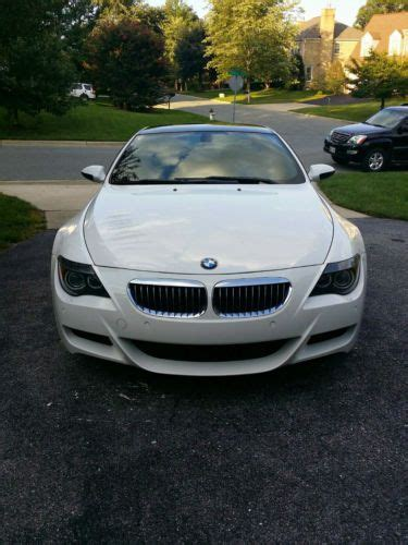 purchase used 2007 bmw m6 manual transmission all options 36k trouble free carbon fiber wow buy used 2007 bmw m6 coupe 2 door 5 0l 6 speed manual rare every option in potomac maryland