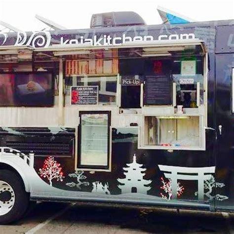 Koja Kitchen Food Truck koja kitchen truck san francisco food trucks roaming