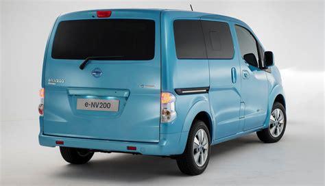 minivan nissan nissan e nv200 minivan ecomento de