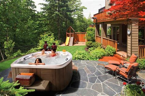 small backyard designs with hot tubs 30 stunning garden hot tub designs