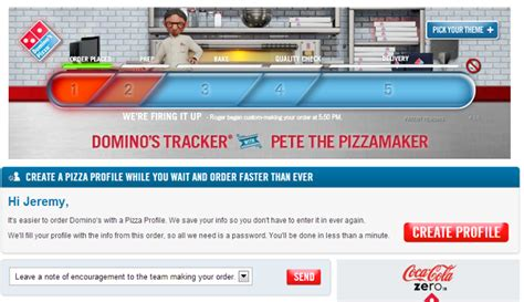 domino pizza maker junior domino s pizza tracker stephen dalton copywriter