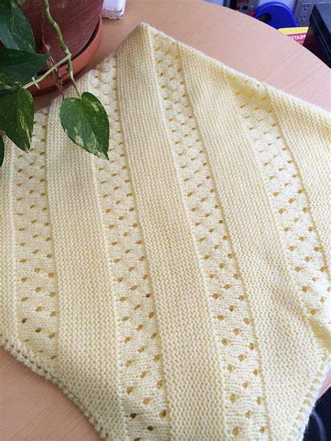 Free Baby Blanket Knitting Pattern by Baby Blanket Knitting Patterns In The Loop Knitting