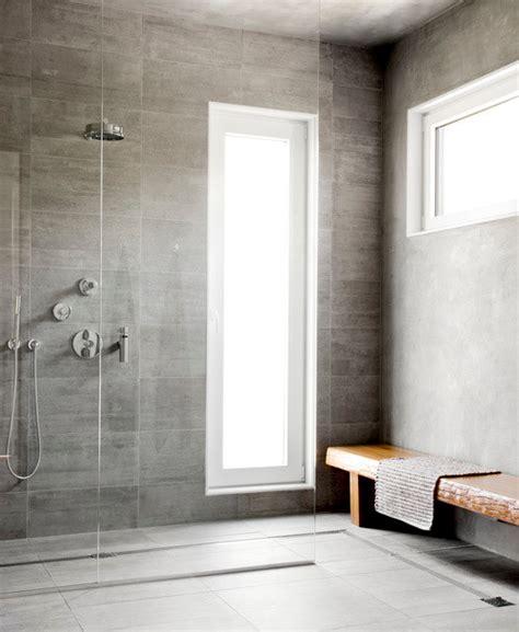 concrete shower floor design ideas