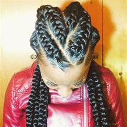 large braided hair styles 8 big corn row styles we are loving on pinterest
