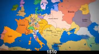 Map Of Europe Today by Video Timeline Watch The Borders Of Europe Change From