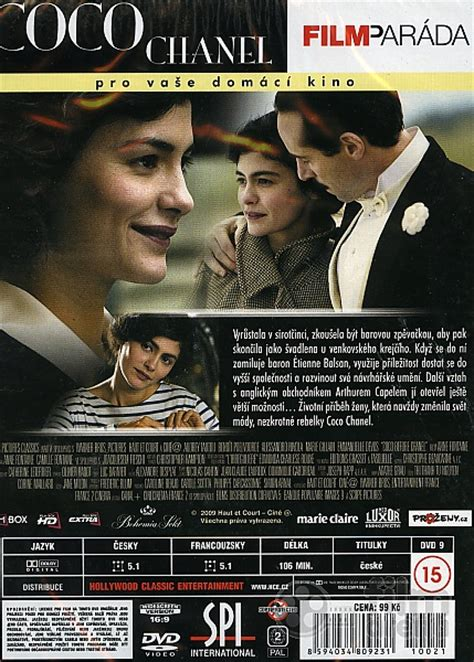 film tentang coco chanel coco chanel dvd