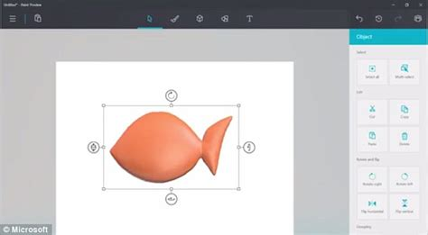 new paint ms paint gets an update leaked video shows new 3d version