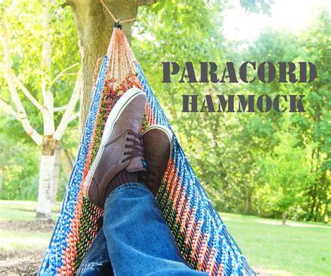 How To Make A Hammock With Paracord 46 paracord projects diy tutorials