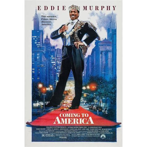 coming to america couch quot coming to america quot film poster 1988 for sale at 1stdibs