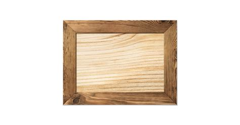natural wood frame  wooden plank  photo print
