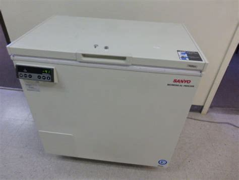 Chest Freezer Sanyo used sanyo mdf 236 chest freezer for sale dotmed listing