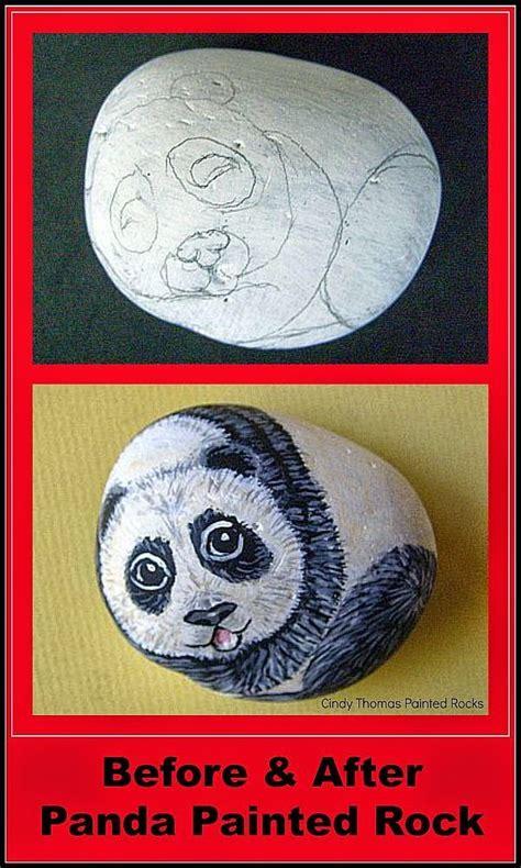 146 Best Images About My Rock Painting Blog On Pinterest Panda Garden Rock