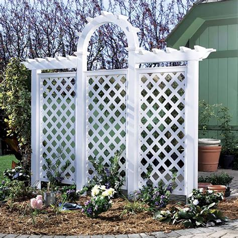 wood trellis plans arched trellis woodworking plan from wood magazine