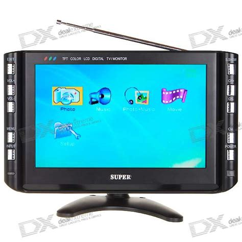 Tv Mobil Lcd portable 9 quot tft lcd tv monitor digital photo frame with sd usb vga ntsc pal secam free