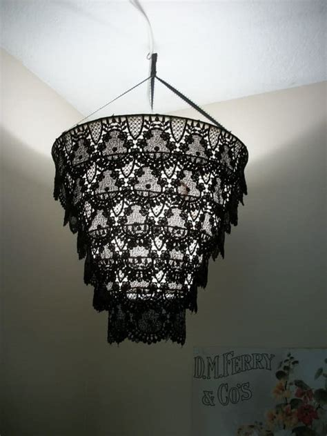 Diy Chandelier L Shades Diy Chandelier L Shade Painted L