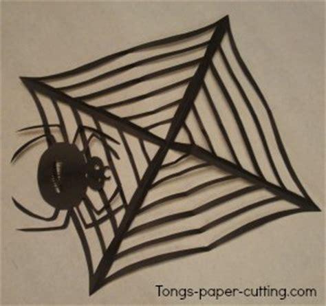 spider web pattern paper halloween cutting patterns