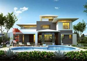 house 3d interior exterior design rendering modern home