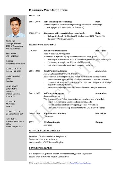 Best Resume In India by Free Resume Templates Layouts Word India Resumes And