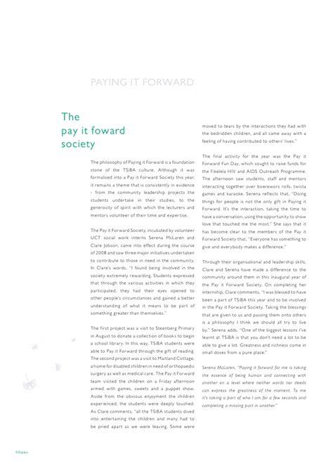 sib r sle report tsiba s annual report