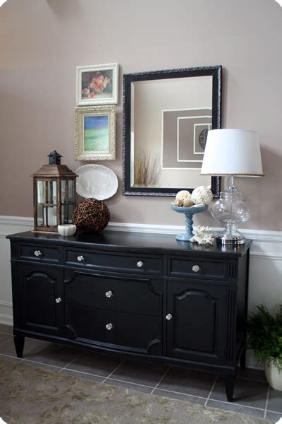 dining room buffet decor from mossy to beachy