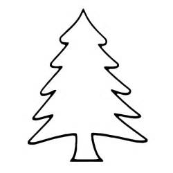 pine tree template free tree outline coloring pages