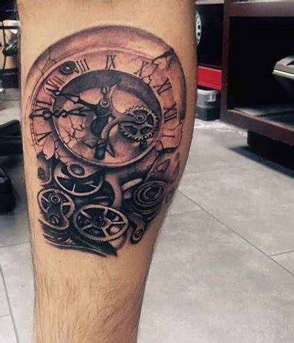 picture tattoos for men clock tattoos designs ideas and meaning tattoos for you