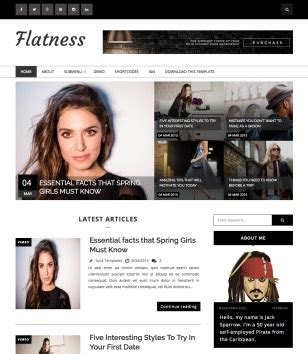 right sidebar blogger templates 2016 free download