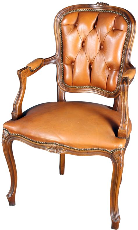 country arm chair vintage country louix xv arm chair in walnut