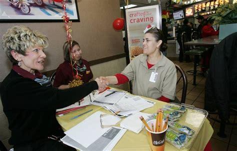 mcdonalds swing manager mcd s hiring push seeks to change mcjob image