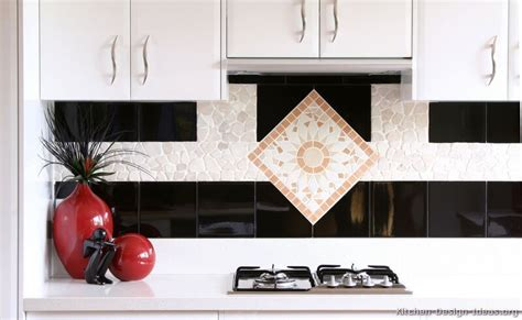 Kitchen Backsplash Stainless Steel by Black And White Kitchen Designs Ideas And Photos