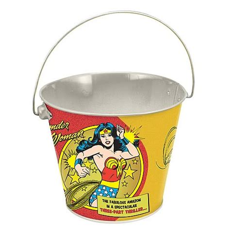 wonder woman home decor wonder woman tin bucket vandor wonder woman home decor at entertainment earth item archive