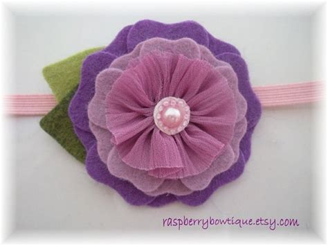 26 best images about fabric flowers handmade on