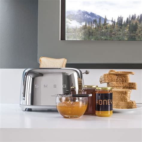 Large Toaster 2 Slice Toaster Toaster Tsf01sseu Smeg Com