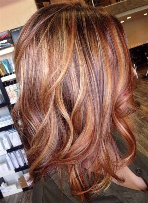 red head with highlights 100 best rock your locks hair colors images on pinterest