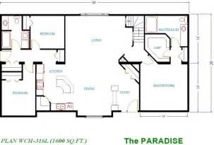 1600 Sq Ft Floor Plans by 1400 Sq Ft House Plans Images