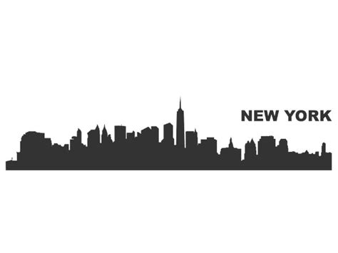 Aufkleber Auto New York auto aufkleber skyline new york aufkleber autoaufkleber