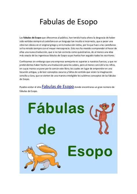 fabula de la ratoncita 9802570745 fabulas de esopo