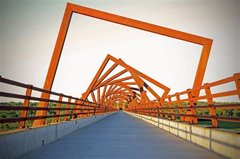 design jembatan high trestle trail bridge rdg collabcubed