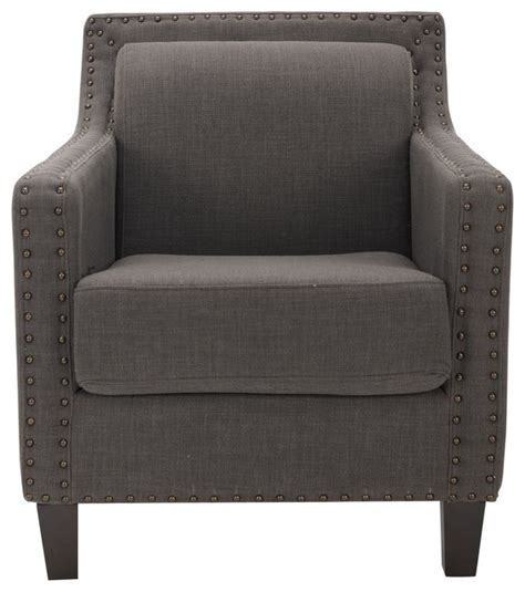 Blue Gray Accent Chairs Safavieh Prince Grey Blue Chair Contemporary Armchairs And Accent Chairs By Overstock
